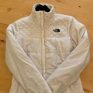 North face light polyester jacket size small